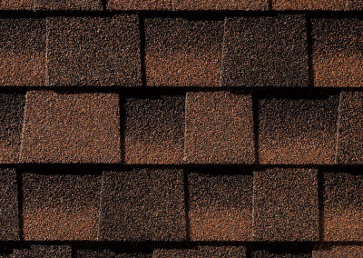 GAF's Timberline HD Hickory shingle swatch