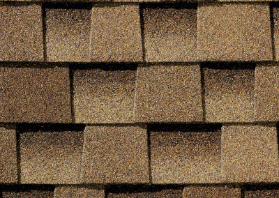GAF's Timberline HD Shakewood shingle swatch