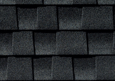 GAF's Timberline HD Charcoal shingle swatch