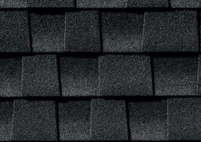 GAF's Timberline HD Charcoal shingle swatch